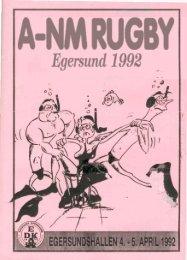Les hele A-NM 1992 heft her - Egersund Dykkeklubb