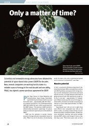 Only a Matter of Time? Space-Based Solar Power - Energy Smith