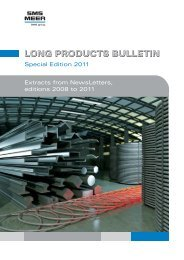 LONG PRODUCTS BULLETIN - SMS Meer GmbH