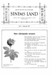 SINIMS LAND il f ~