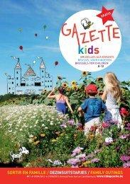sortir en famille / gezinsuitstapjes / family outings - Kids-Gazette