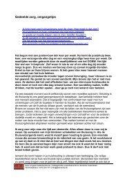 Gedeelde zorg Omgangstips - Omgaan met dementie