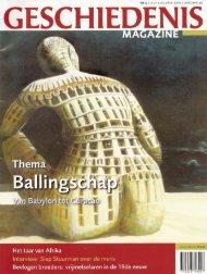 Geschiedenis magazine, 2010