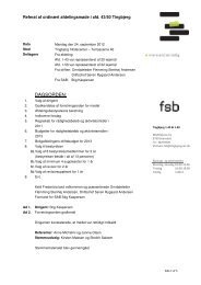 DAGSORDEN: - Tingbjerg Forum