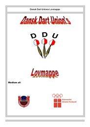 Dansk Dart Unions Lovmappe Medlem af: