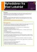 Nyhedsbrev fra Voel Lokalråd - Voel.dk - Page 2