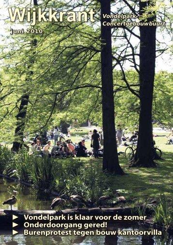 krant 3 - Wijkcentrum Vondelpark-Concertgebouwbuurt