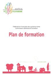 Plan de formation - Stages & Formations