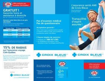 Brochure (PDF) - Produit d'assurance santé AMI