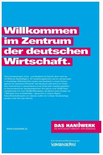Das Handwerk 2010 - Schwäbische Post