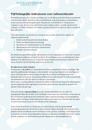 artikel - Claudia de Graauw Onderzoek en Advies
