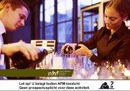 Vaste rente van 7,2% - Nederlands Horeca Fonds