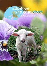 Schoolkrant Lente 2012 - Vrije School Utrecht