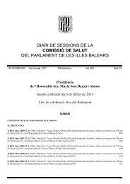 6 de febrer de 2013Núm. 35 VIII legislatura - Parlament de les Illes ...