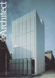 De Architect oktober 2001, PDF (0,9 mb)