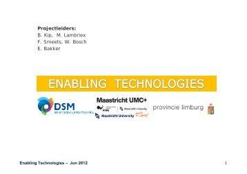 Enabling Technologies - LifetecZONe
