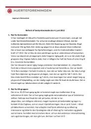 Referat af bestyrelsesmøde den 4. juni 2012 1 ... - Hjerteforeningen