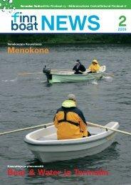 Bear & Water ja Termalin Menokone - Finnboat
