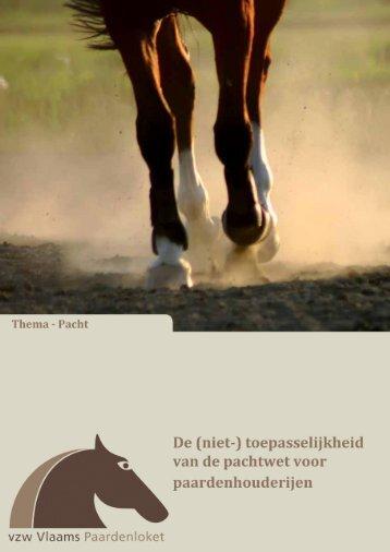 De niet-toepasselijkheid van de pachtwet voor paardenhouderijen