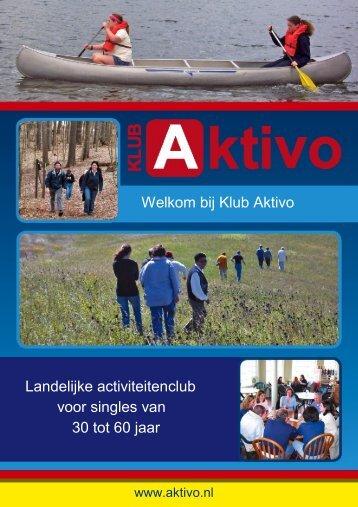 Bekijk onze brochure - Klub Aktivo