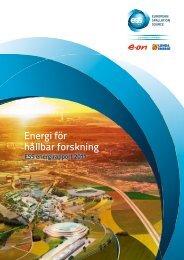 Energi för hållbar forskning - Lunds Energi