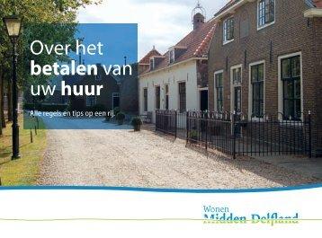 Over het betalen van uw huur - Wonen Midden-Delfland