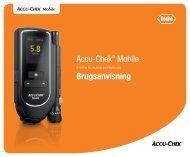 Accu‑Chek® Mobile Brugsanvisning