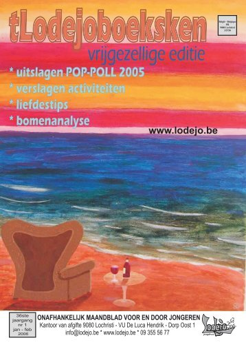 Boekje jan 2006.indd - Jeugdhuis Lodejo