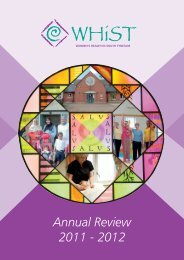 Annual Review 2011 - 2012 - Women's Health In South Tyneside