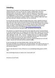 Inleiding - Oudervereniging van het Stedelijk Gymnasium te ...