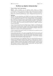 Skriftsyn og religions-/misjonsteologi
