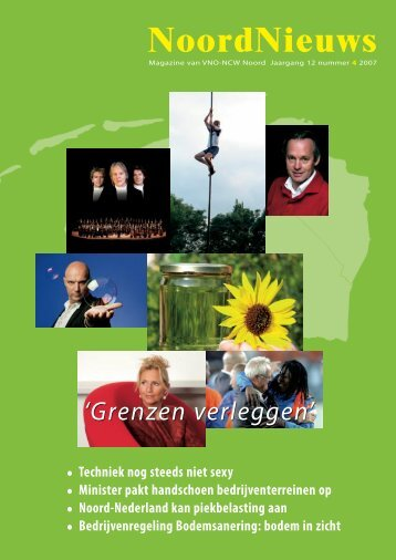 'Grenzen verleggen' - VNO-NCW Noord