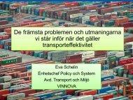 Transport och Miljö - Lindholmen Science Park