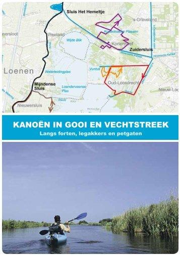 kanoroutes gooi- en vechtstreek - Recreatie Midden-Nederland