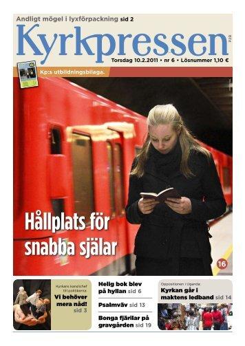 Kyrkpressen 6/2011 (PDF: 2.7MB)