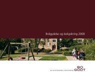 Boligydelse og boligsikring 2008