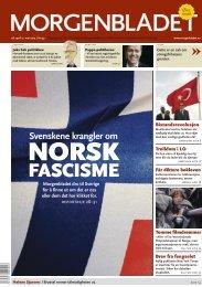Morgenbladet dro til Sverige for å finne ut om det ... - Älskade fascism