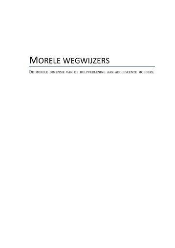 MORELE WEGWIJZERS - HU Onderzoek - Hogeschool Utrecht