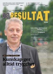 Delresultat 7-2010 Norr - Arbetslivsresurs