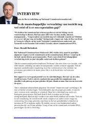 Interview Auke de Bos - NVTK