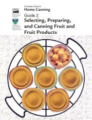 Selecting, Preparing, and Canning Fruit and Fruit Products