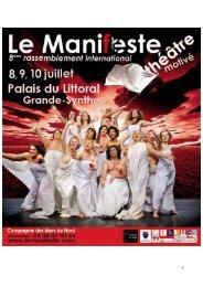 Saison 2011 - Le Manifeste - Rassemblement International pour un ...