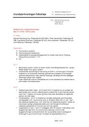 Referat af 2. bestyrelsesmøde