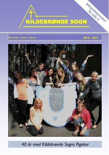 Nr. 16. December 2010 - Januar - februar 2011 - Kildebrønde Sogn