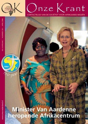 2006 april - Sociëteit der Afrikaanse Missiën