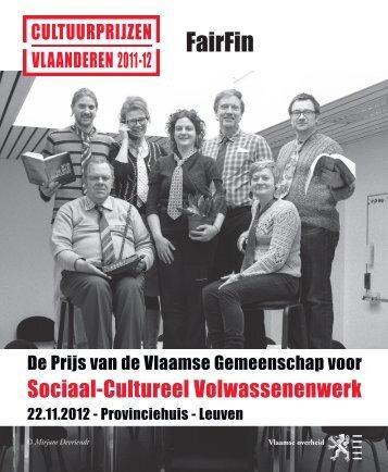 Bekijk de folder (PDF) - CultuurPrijzen