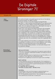 De Groninger 71 nr 3 - 2008 - Fokvereniging