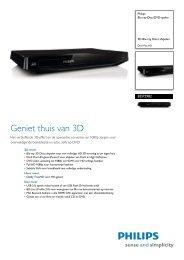 BDP2982/12 Philips Blu-ray Disc/DVD-speler