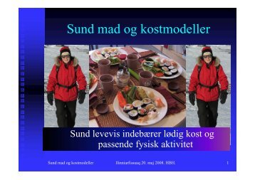 Sund mad og kostmodeller - paarisa