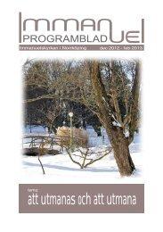 december 2012- februari 2013 - Immanuelskyrkans församling